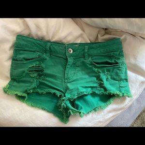 Pacsun green short